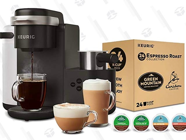 This New Keurig Machine Makes Regular Coffee and Espresso, All For $119