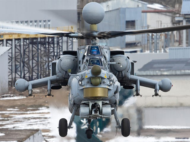 Advanced Russian Attack Helicopter Crashes In Syria