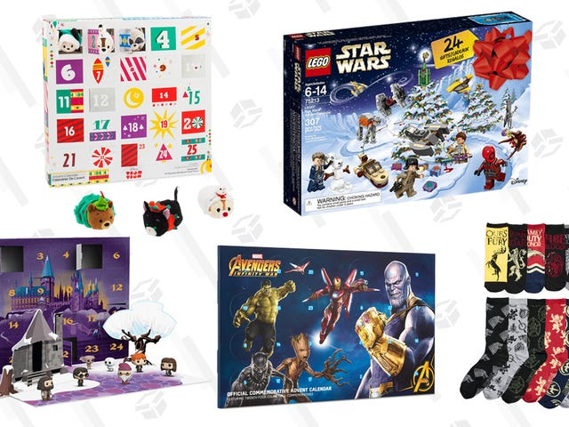 Count Down to Christmas With These Nerdy Advent Calendars