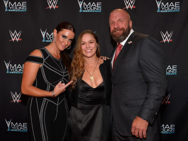Ronda Rousey's WWE Future Is Starting To Take Shape