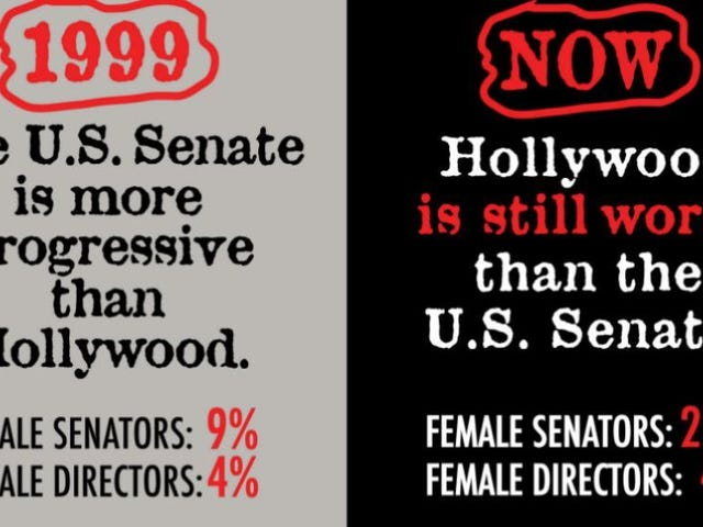 Guerrilla Girls Are Back to Remind You the U.S. Senate Is More Progressive Than Hollywood