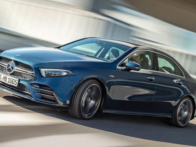 2020 Mercedes-AMG A35将作为轿车来到美国