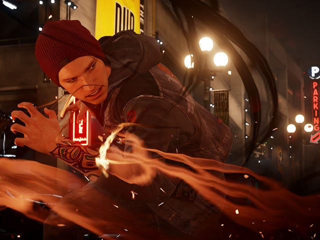 Infamous: Second Son Headlines September's PlayStation Plus Lineup [Updated]