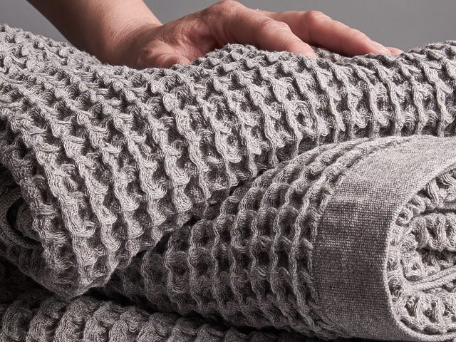 Treat Yourself to Onsen's Ultra-Soft Waffle Weave Towels For 15% Off