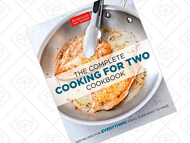 This Highly-Rated Cookbook For Two Is Just $18