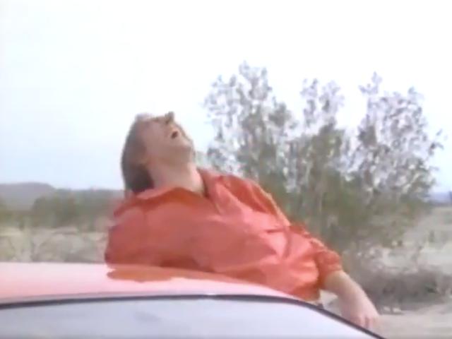 พยานนิโคลัสเคจของจี้ใน 60 วินาทีในสติกเกอร์ตรงไปที่วิดีโอ 1989