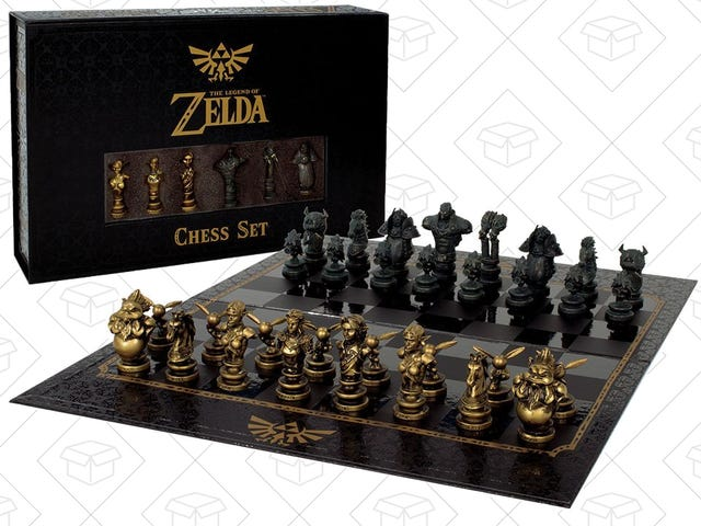 Once You Finally Get Sick of Breath of the Wild, Here's a Deal on Zelda Chess