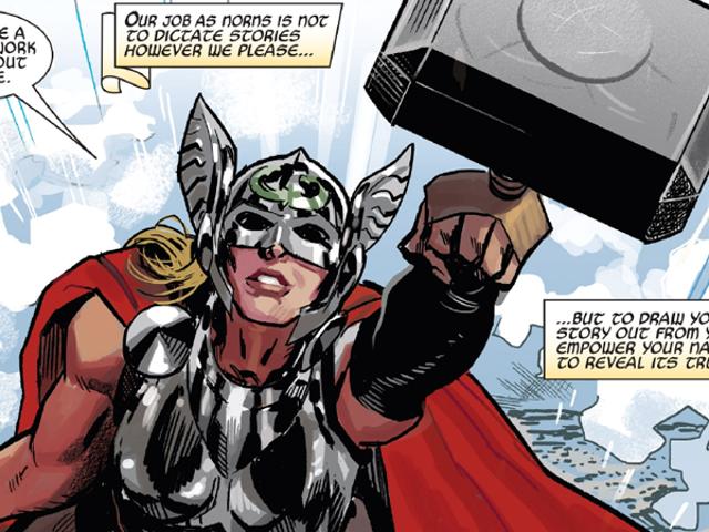 The Mighty Thor # 700 pinta un futuro audaz para todos los diferentes dioses del trueno de Marvel