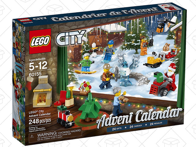 This LEGO City Advent Calendar Is Basically 24 Gifts In One