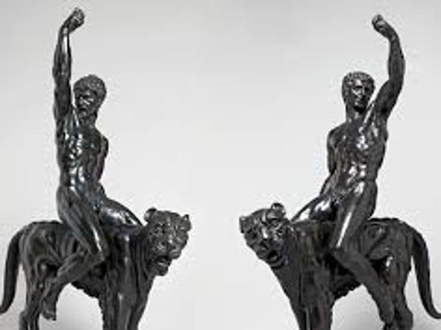 Los historiadores piensan que Miguel Ángel hizo estas esculturas.  No estoy muy seguro.