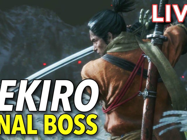 After failing last night and staying up too late, I'm playing Sekiro: Shadows Die Twice and fighting
