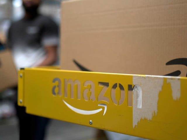コロナウイルスの遅延により、Amazonの食料品の新規配達のお客様は空席待ちになりました