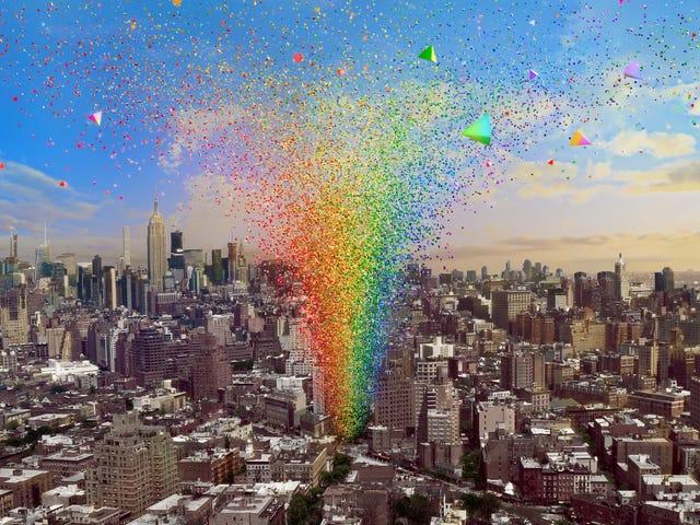 Non è possibile visitare Stonewall a New York?  È ancora possibile arrivare da lì attraverso un monumento all'orgoglio vivente