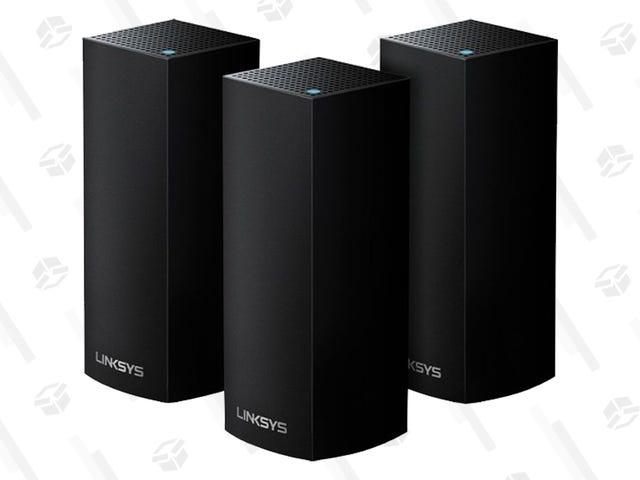 Linksys Velop AC2200, बेस्ट मेष राउटर्स जो आप खरीद सकते हैं, में से एक $ 100 का है