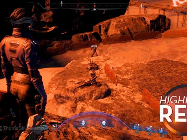 Den bästa omslaget i <i>Mass Effect</i> är en frusen följeslagare