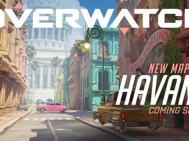 Overwatch's next map will be Havana