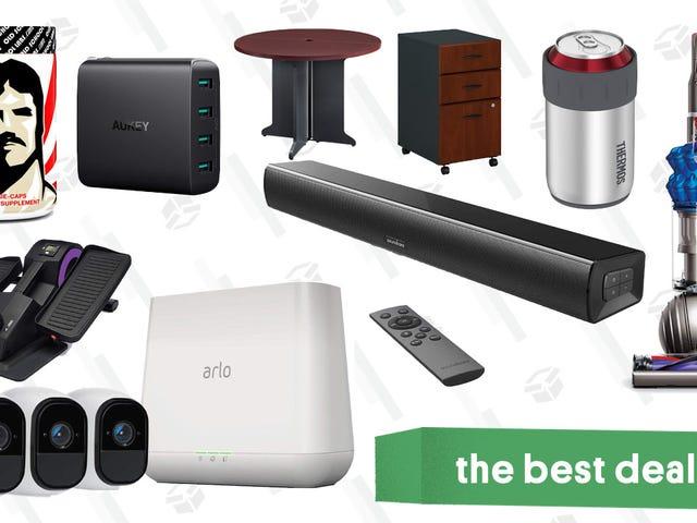 월요일 최고의 할인 : 리솜 디종 진공, Arlo 보안 카메라, 사무용 가구 및 기타
