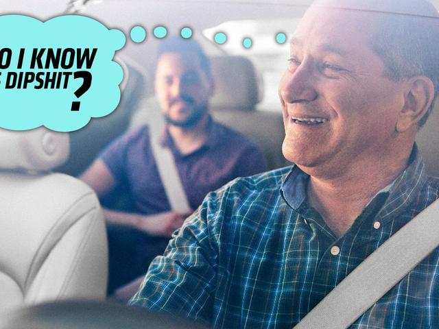 어색한 : Uber 고객은 무작위 사람들의 자동차에 들어갈 수 있습니다.