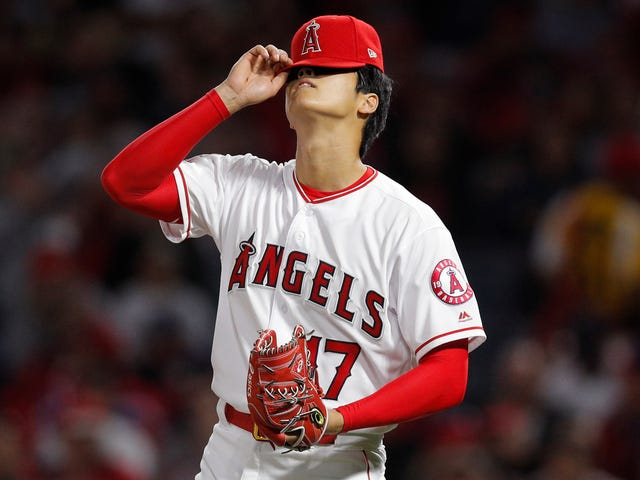 Shohei Ohtani Got Yanked After Just Two Innings