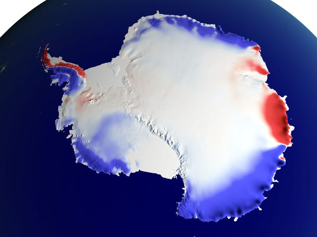 Antarctic Snowfall Is Helping Offset Sea Level Rise, But That Won't Save Us