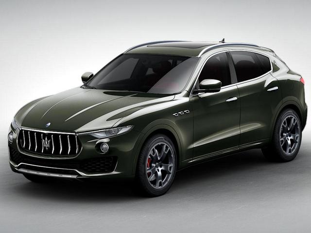 Benekli: Maserati Levante