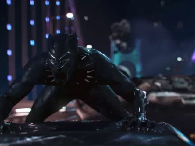 This Video Breaks Down the Special Effects Witchcraft of Black Panther's Car Chase