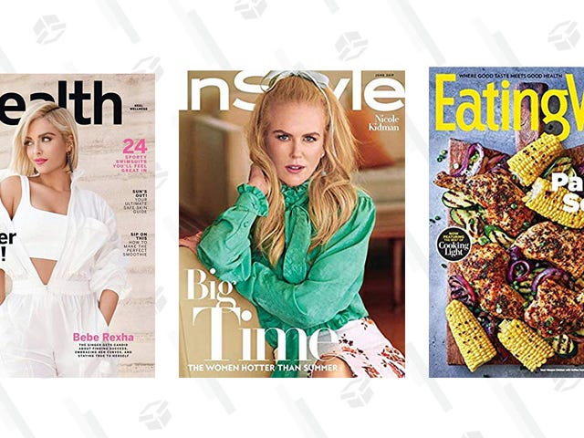Subscribe to a Bunch of Popular Magazines For Just a Few Bucks, Today Only