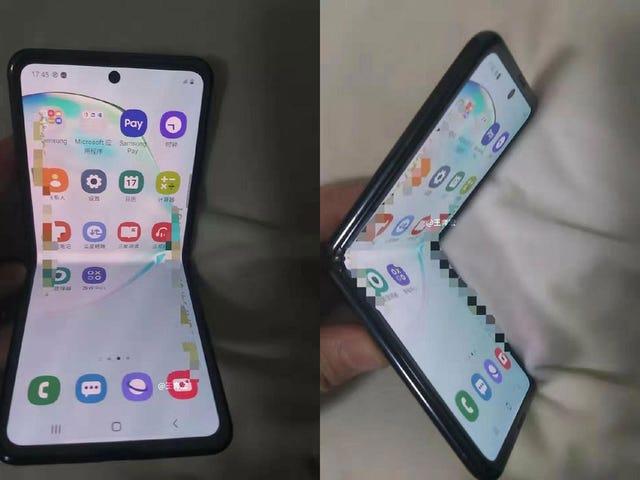 Jag hoppas verkligen att detta rykte om flexibelt glas på den nya Samsung vikbara telefonen är sant