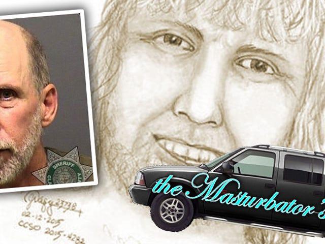 Το αναγνωριστικό του φορτηγού βοηθά το Nab Chronic Masturbator με το όνομα Dick στο Tickle Creek