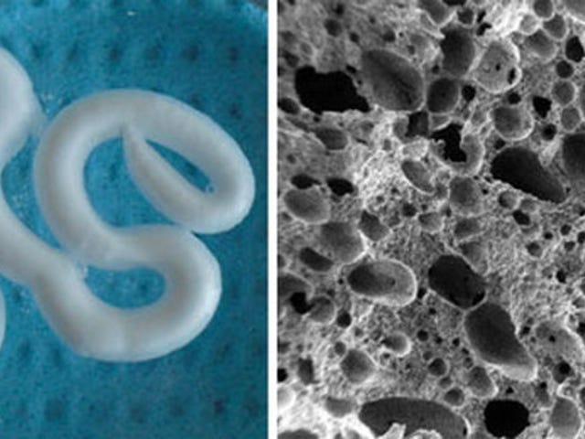 Des scientifiques créent une mousse injectable pour réparer les os dégénératifs