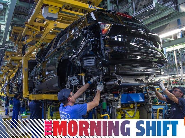Ford Mahu Mencakar Kembali Keuntungan Dengan Memotong 12,000 Pekerjaan menjelang Akhir tahun 2020