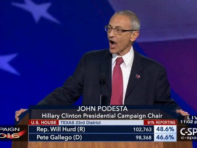 John Podesta Tells Supporters at What Was Supposed to Be Clinton's Victory Party to Go Home