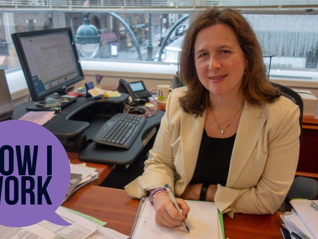 I'm Beth Shapiro, Executive Director of Citymeals on Wheels, and This Is How I Work