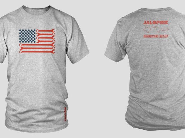 Få den Jalopnik orkanen relief T-skjorte fra blipshift fordi det er for en stor årsak