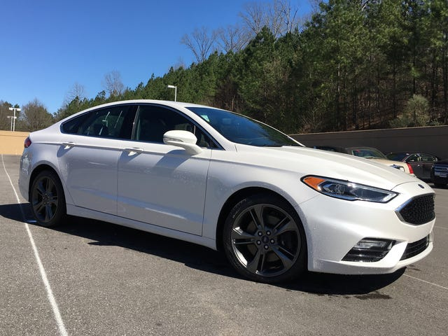 Ask me anything about the Ford Fusion Sport!