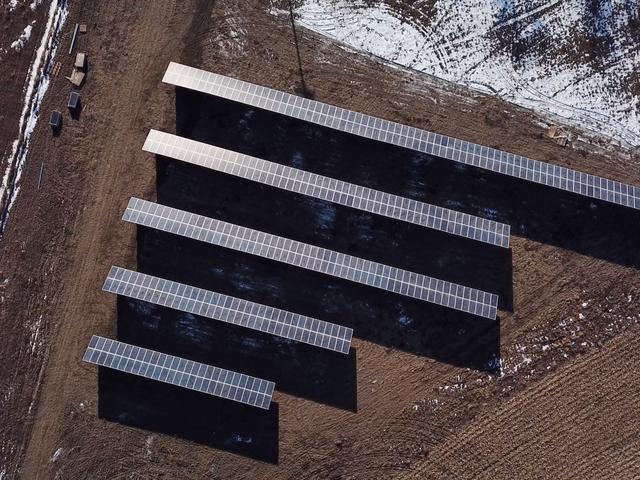 नॉर्थ डकोटा का पहला सोलर फार्म स्टैंडिंग रॉक ट्राइबल लैंड पर खुलता है