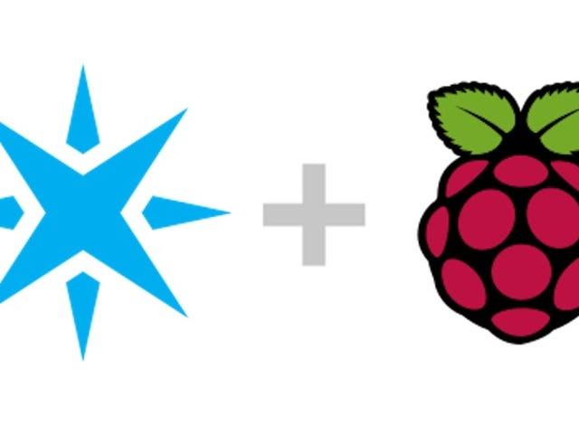 ラズベリーパイをモノのインターネットに簡単に接続できるパーティクル