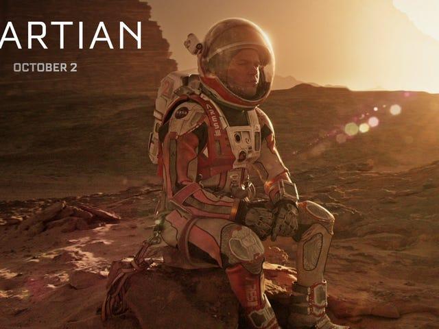Mark Watney enumera todas las formas en que Marte puede matarlo un nuevo reclamo Martian