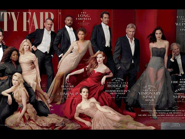 """Джеймс Франко був """"викуплений на виставці Vanity Fair в Голлівудській обкладинці"""" в останній хвилині"""