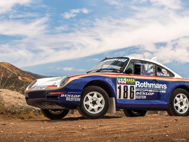 If You Don't Buy Me This Paris-Dakar Porsche 959 Rally Car, You're Dead To Me