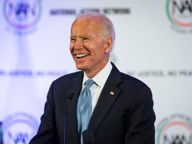 You Don't Say? Joe Biden Preaches to the Choir About White America's Systemic Racism