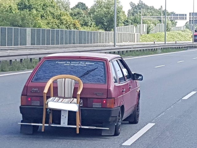 When you need to drive your mother-in-law somewhere