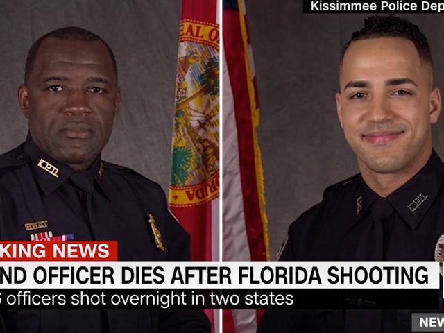 Dwóch policjantów zabitych na Florydzie, podejrzany po stracie