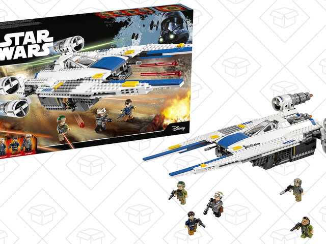 Join the Rebellion With This Discounted U-Wing Fighter LEGO Set