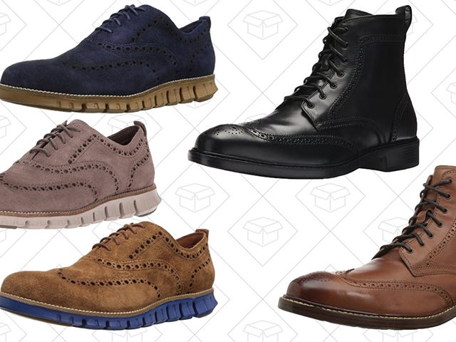 Take Your Pick Of Two Men's Cole Haan Shoes For $100, Today Only