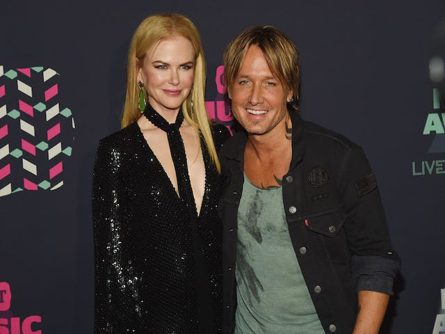 When Nicole Kidman and Keith Urban Want to Bone, They Tell Their Kids They Need 'Kissy-Kissy Time'