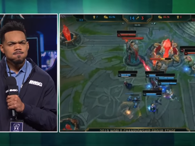 Chance The Rapper Is A Clueless Esports Reporter In This League Of Legends SNL Skit
