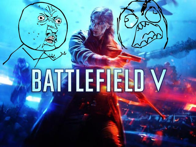 Battlefield V Reveal: An Equal and Opposite Overreaction