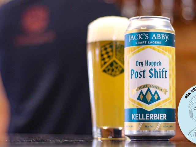 Spørg Kate om øl: Hvad er kellerbier?