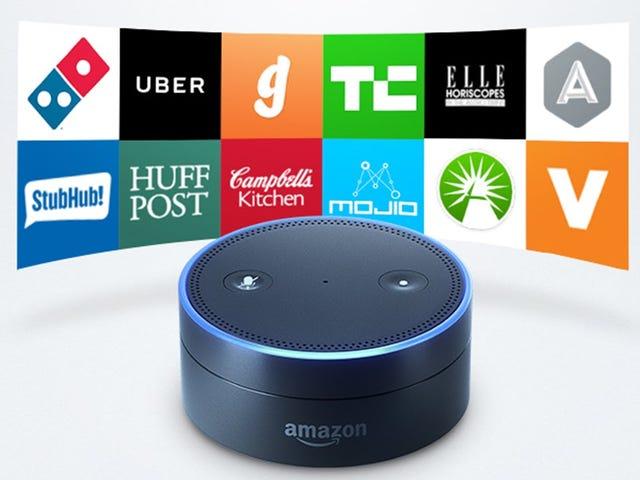 Amazon Unveils the Echo Dot and Amazon Tap, Two New Alexa Devices